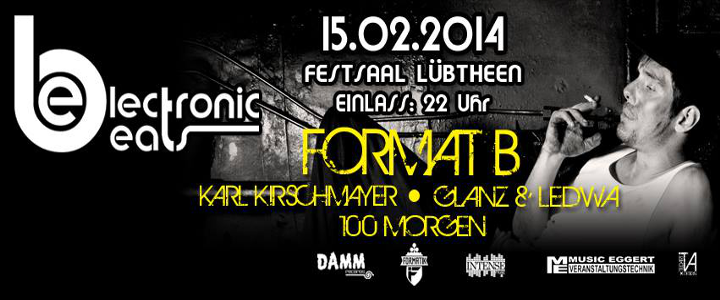 Electronic Beats am 15. Februar 14